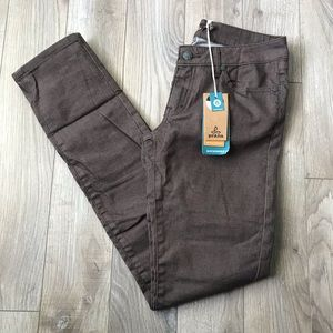 NEW Prana Kara Jean coffee bean brown pants